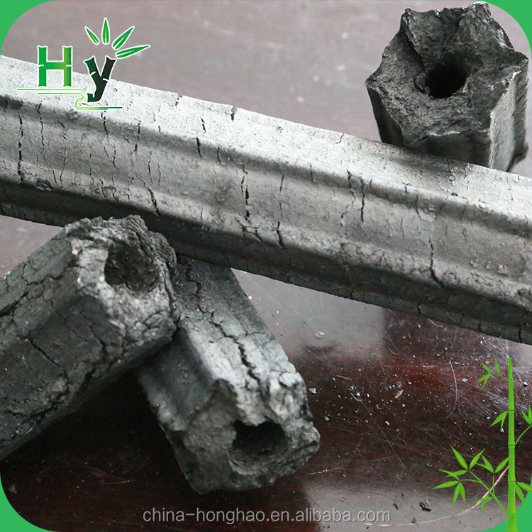 Natural conventional high quality bamboo charcoal use for BBQ