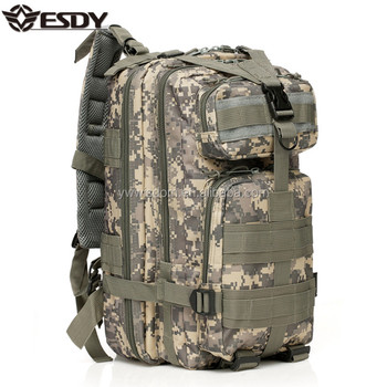 a46ffe9fdaf6 ESDY Army Assault Waterproof Wearable Durable Tactical Military Camo  Backpack