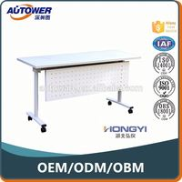 Cheap Metal Office Factory Direct White Office compact computer desk