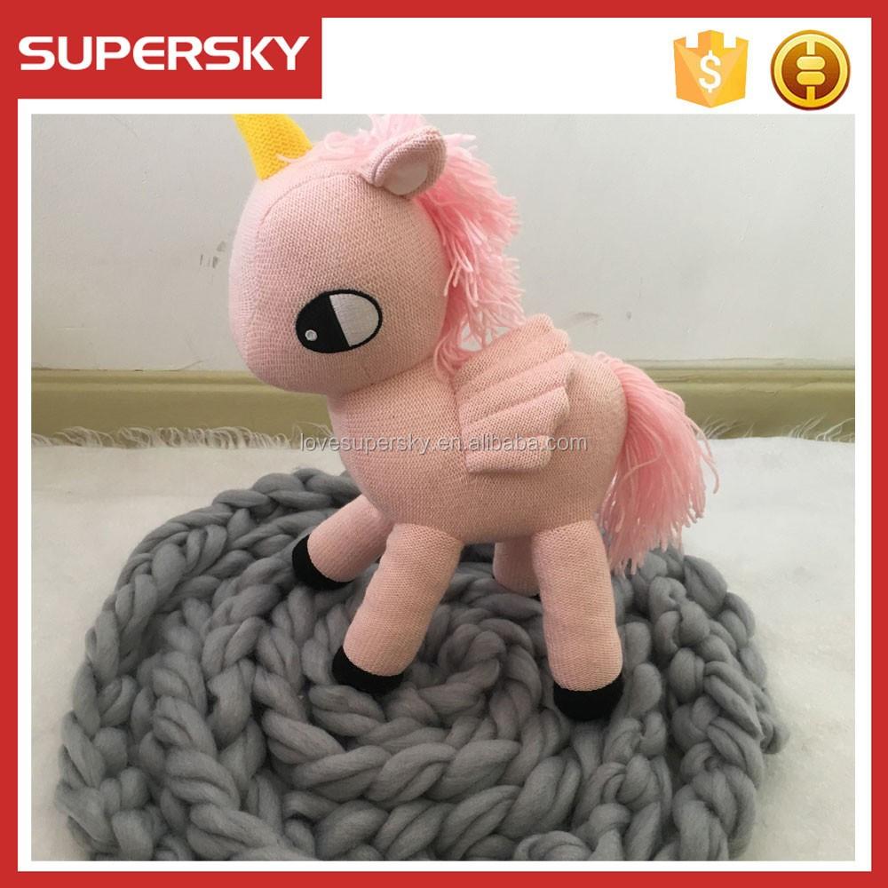 A508 Amigurumi Pony Patrón De Crochet Pony De Ganchillo Hecho A Mano ...