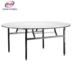 Famous brand export folding circle round hotel table XYM-T21