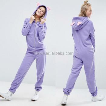 Online Shopping China Apparel Agent Wholesale Custom Adult Women Sleepwear  Animal Onesie Pajamas in Fleece with d21894652