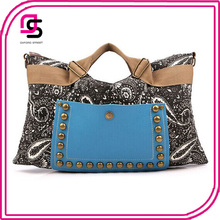 newest vintage ethnic tribal trendy canvas tote shoulder bags