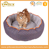 Comfortable pp cotton fiber filling dog cushion wholesale pet accessories luxury design orthopedic pet dog bed