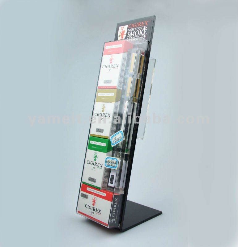 Supply Acrylic Cigarette Rack
