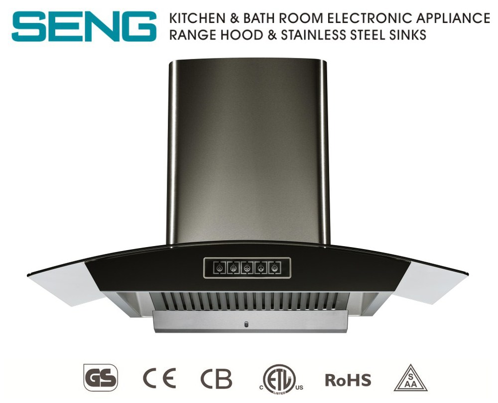 Kitchen Appliance Smoke Extractor Gas Cooker Hood   Buy Gas Cooker Hood, Kitchen Hood,Black Range Hood Product On Alibaba.com