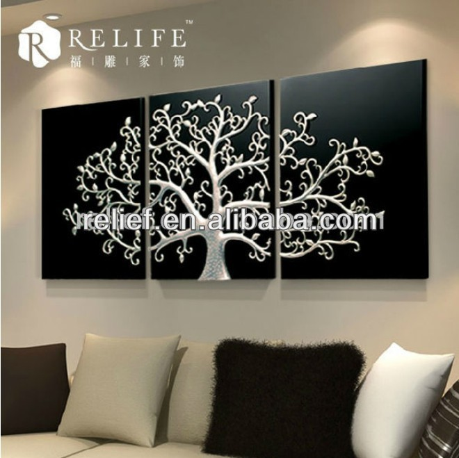 Best Selling Decoration Picture Acrylic Painting Trees Buy Acrylic Painting Trees 3d For Decor Wall Art Canvas Painting 3d Relief Picture Product On