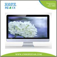 24 inch white led computer vesa wall mounting monitor