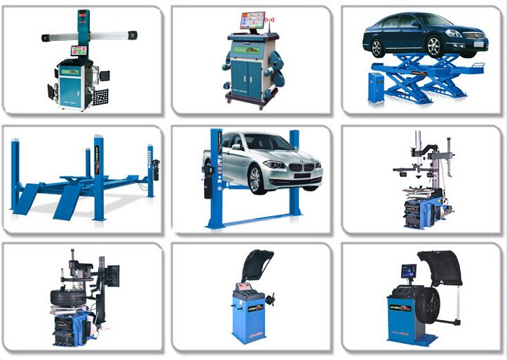 the newest design BC-A7 3d used wheel alignment machine for sale