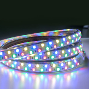 Christmas Led Strip Light Outdoor Use 2200k 6500k 5050 Flexible 60led M Rgb Led Light Color Change