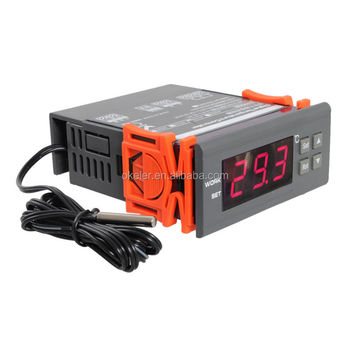 110V LCD Digital Centigrade Temperature Control Controller Thermocouple Sensor