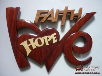Wooden Craft Love Hope Faith Buy Wooden Craft Product On Alibaba Com