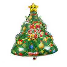 Hot verkoop <span class=keywords><strong>ontwerp</strong></span> kerstboom patroon party <span class=keywords><strong>latex</strong></span> kerst <span class=keywords><strong>ballon</strong></span>