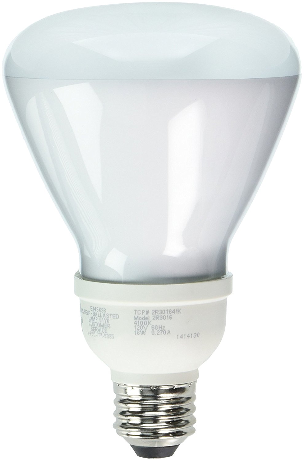 Get Quotations TCP 2R301641K CFL R30 65 Watt Equivalent 16W Cool White 4100K
