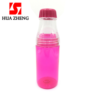 HUAZHENG Food Grade BPA Free Novelty Plastic Water Bottles Sports Drinking Bottle