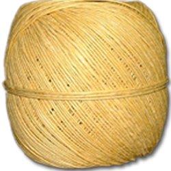 Yellow Hemp Twine 20 lb. (±1mm) Polished 100g Ball