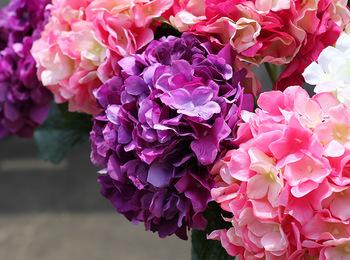 Long Stem China Artificial Flowers Bulk Hydrangea Silk Flowers Buy