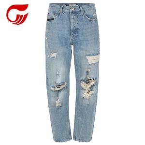 690c146dfa8 Customize Brand Capri Hollow Women s Jeans Distress Ripped Holes Women Jeans