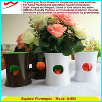 Squirrel flower planters wholesale buy chinese products online
