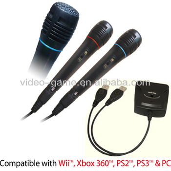 Karaoke Microphone For Wii/ps4/ps3/xbox360/pc Console Game ...