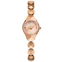 DOM женские роскошные брендовые водонепроницаемые Стильные кварцевые часы из вольфрамовой стали, золотые часы для медсестры, браслет для же...(Китай)