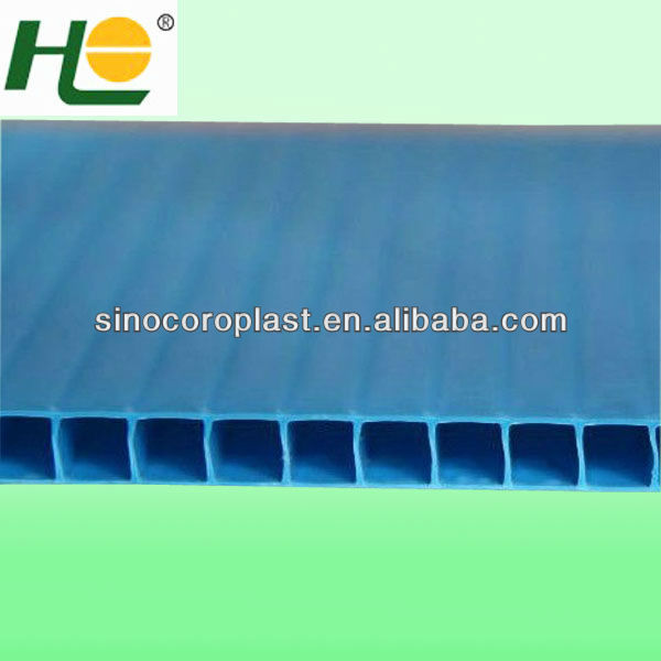 Biodegradable pp corrugate plastic protection sheet