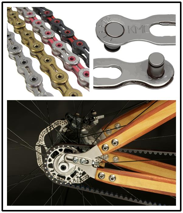 2016 New Design Durable Custome Logo Kmc Color Bike Chain
