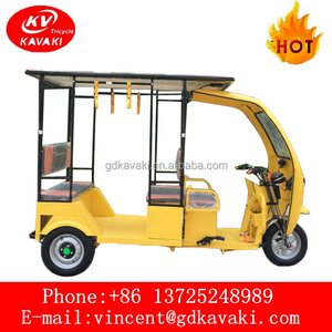 2018 Solar Panels Electric Tricycle / Passenger Tricycle / e rickshaw For Sale