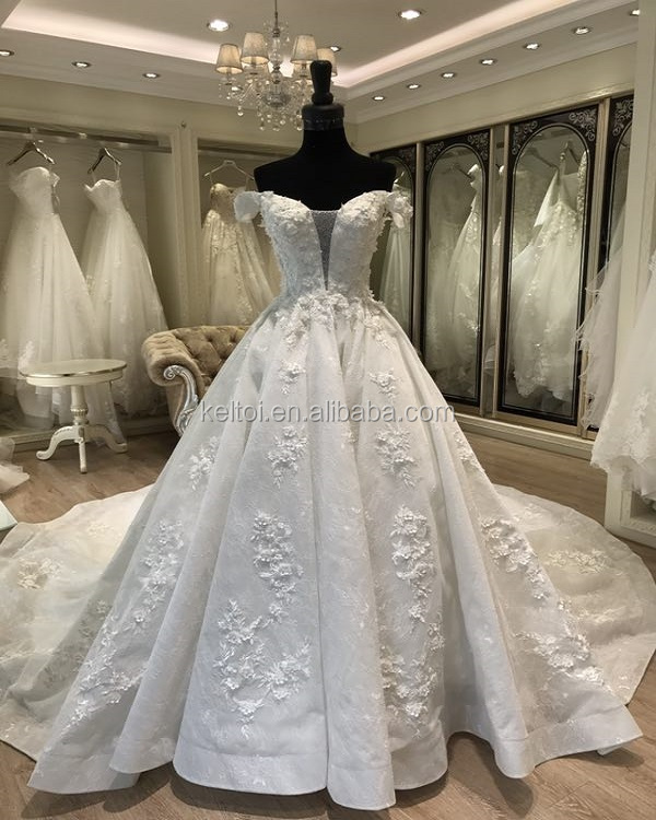 2018 Ball Gown Alibaba Wedding Dress Plus Size For Fat Women