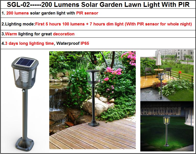Garden Lamps Modern, Solar Led Yard Light, Solar Outdoor Garden Light  Elegant Cup Design