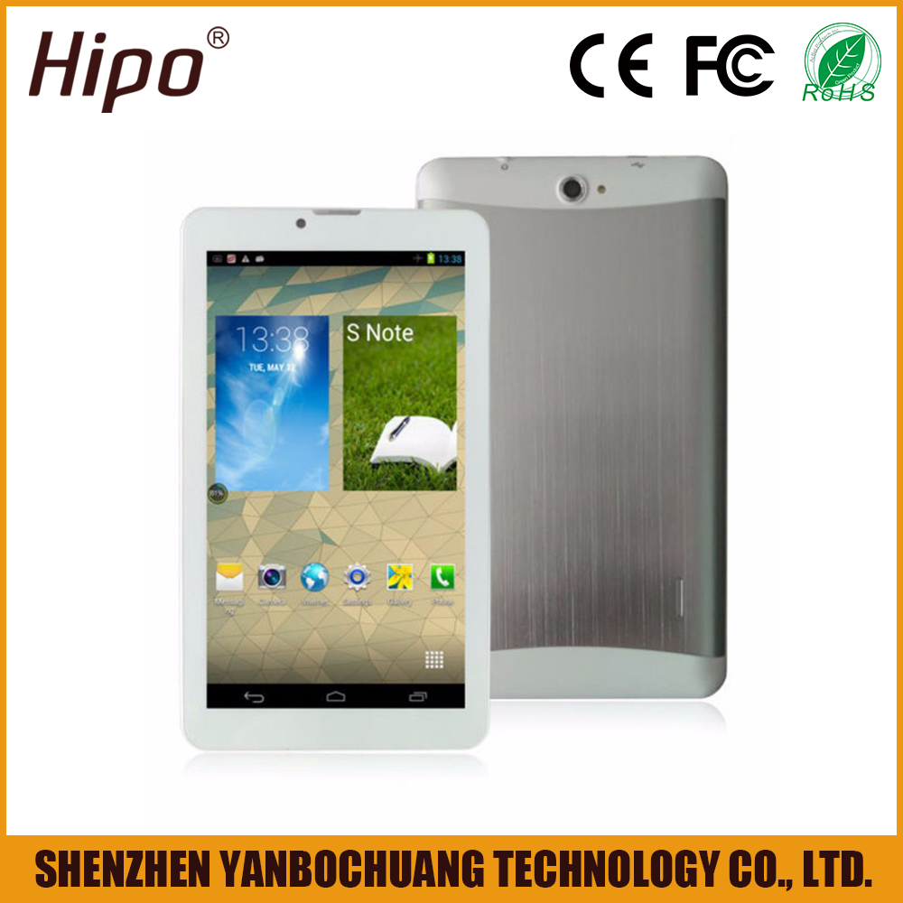 China Manufacturer Wholesale Cheap 7 Inch 3G Android Tablet PC With Camera/Wi-Fi/Bluetooth/GPS