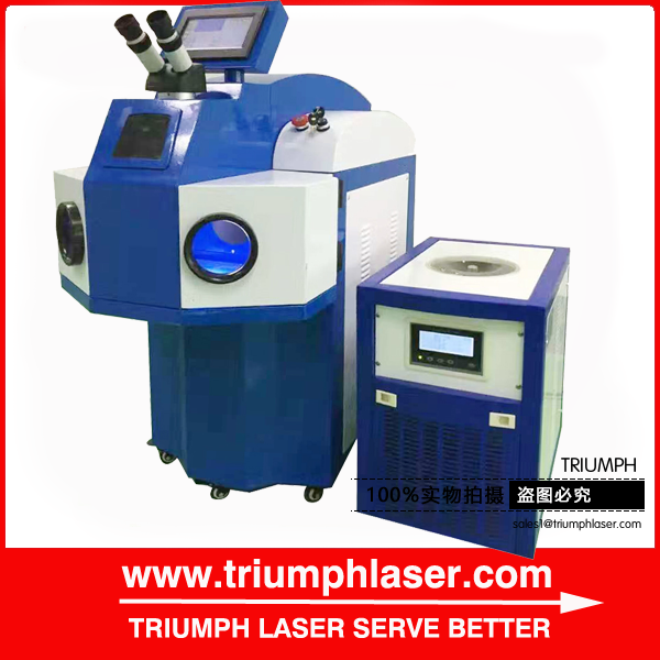 triumph Gold ring Jewelry Laser Welding Machine for sale