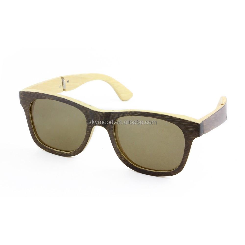 nuevo concepto fotos nuevas brillante en brillo 2018 madera plegable gafas