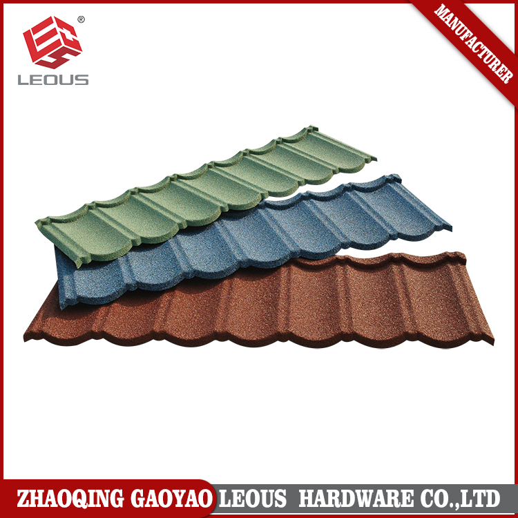 Aluminum zinc alloy stone coated roofing corrugated sheet