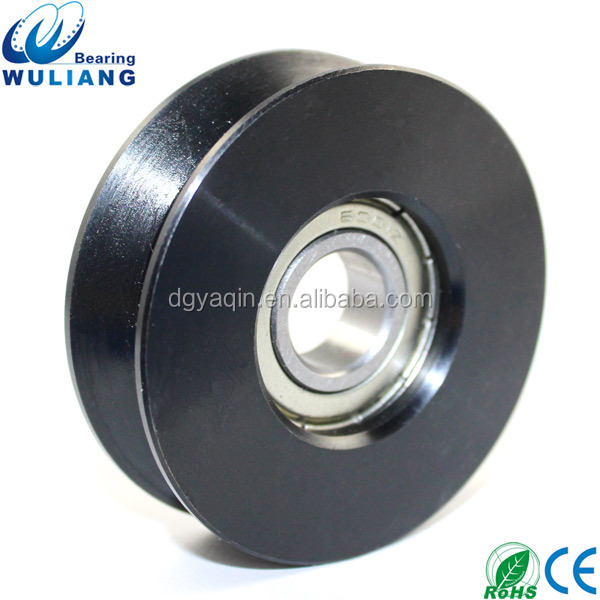 China High Speed 12x50x15mm 6001zz v shaped steel bearing