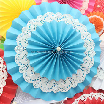 Paper Fans Diy Wedding Stage Hall Background Decorations Dancing Party Decoration Product On Alibaba