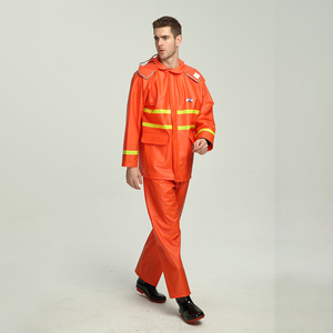 Anti-Static Yarn Hi Vis Reflective Safety Coverall Workwear Uniform, High Visibility Work Uniforms