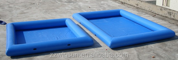 Inflatable square swimming pool for sale buy inflatable square swimming pool swimming pool for Square swimming pools for sale