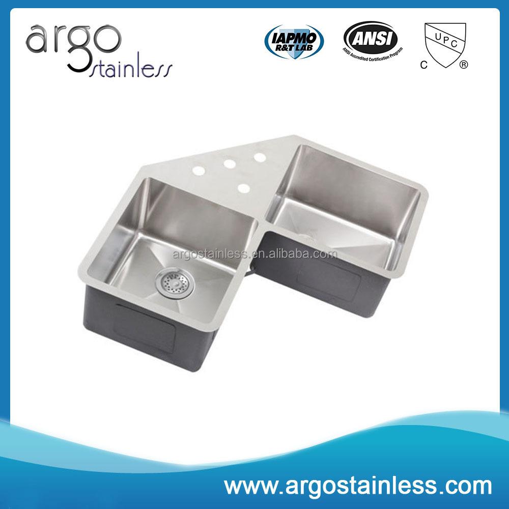 Finden Sie Hohe Qualität Dreieck Küche Spüle Doppelschüssel ...