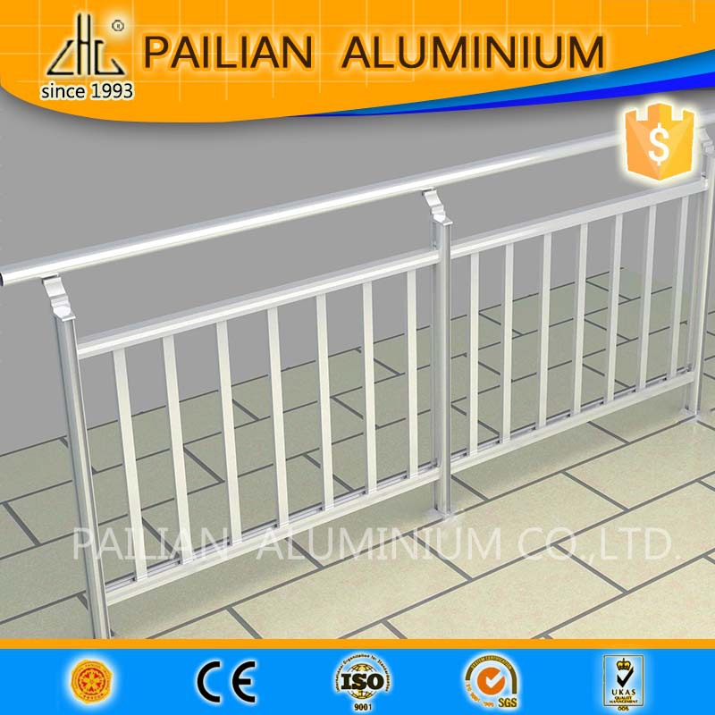 Outdoor powder coated aluminum pool fence gate profile,OEM aluminum garden fence gate,aluminum fence gate extrusion profile