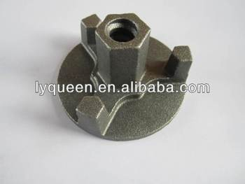 Scaffolding Formwork Cast Steel M15 17 Wing Nut For Tie