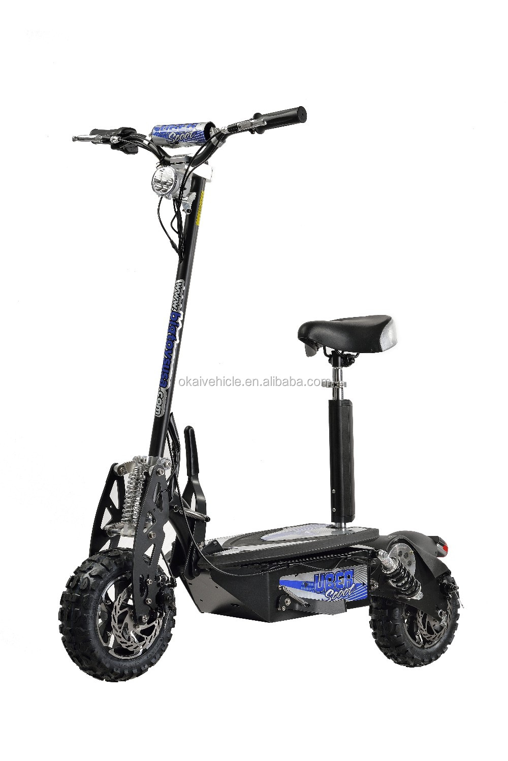 48v 1600w 12 inch big wheel electric scooter for adult for Big wheel motor scooter