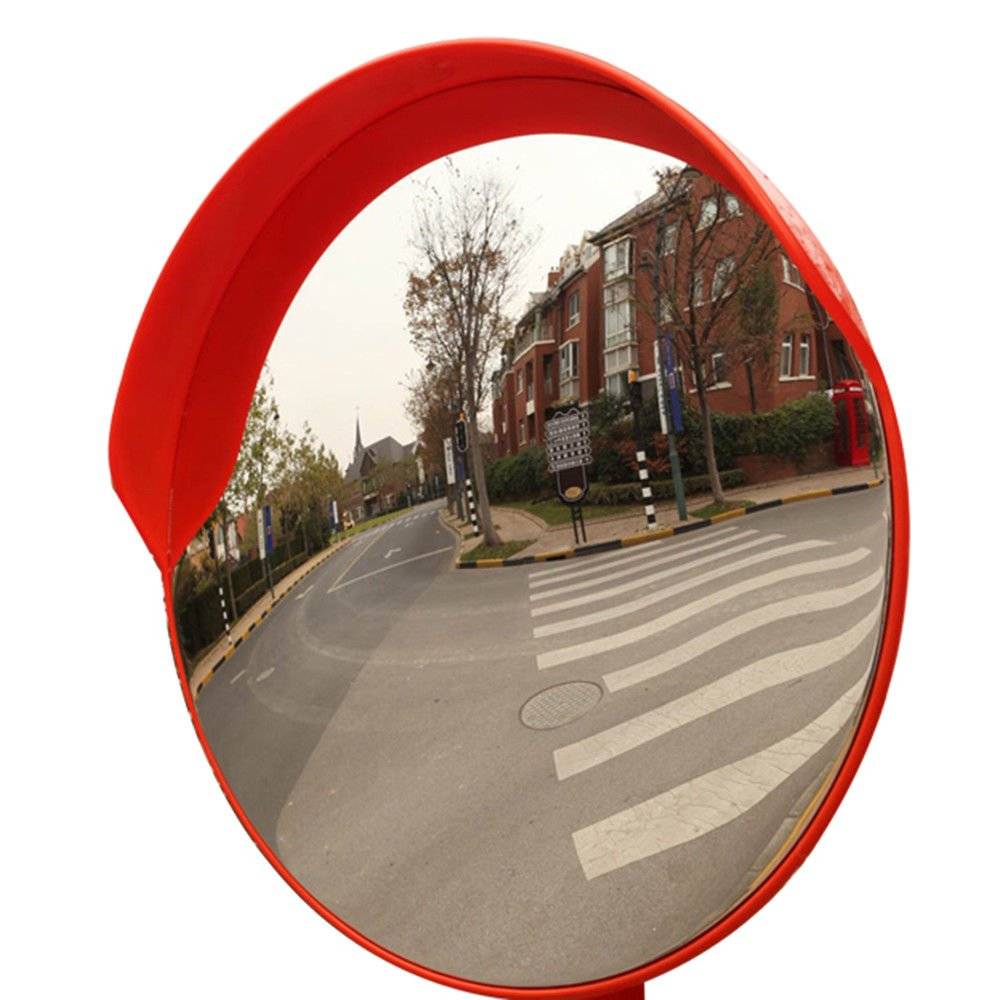 Get Quotations 24 Outdoor Road Traffic Convex Mirror Wide Angle Driveway Safety Security