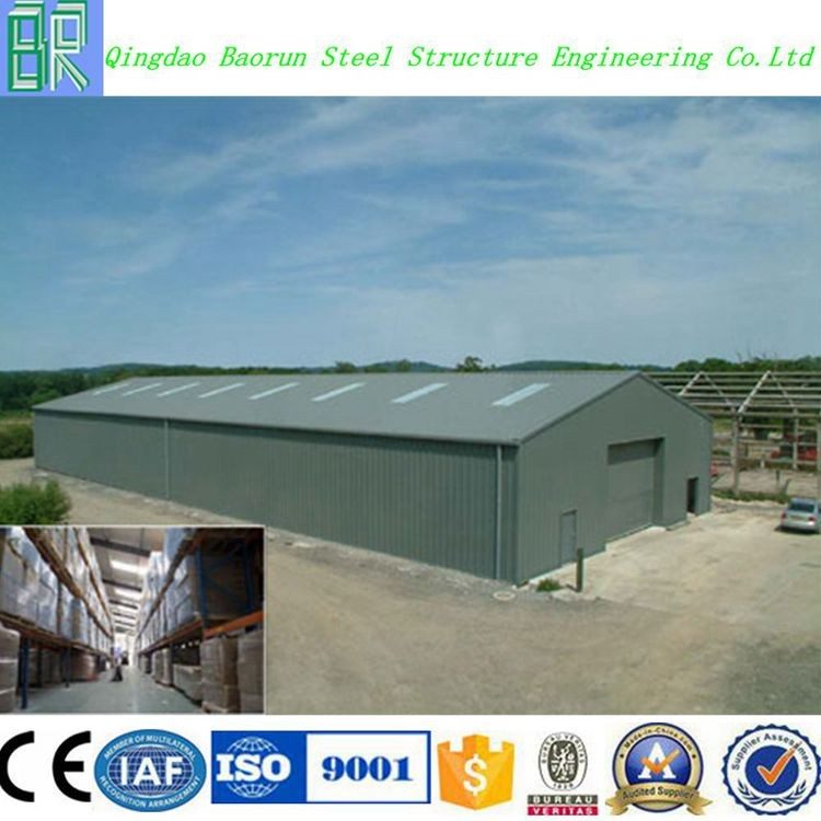 Low cost pre engineering prefabricated steel structure construction building