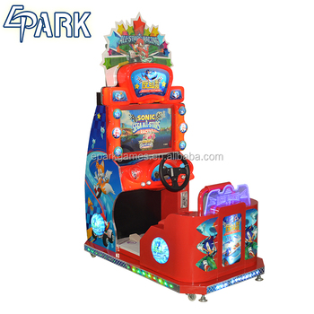 Children' s car racing game mini arcade machine for sale