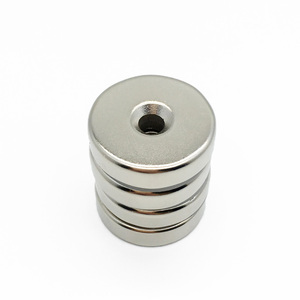 25mm x 10mm Real N52 Countersunk Magnet to Hold Doors