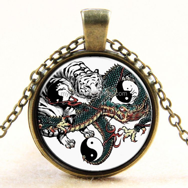 Red and Yellow Yin Yang Geckos Jewelry