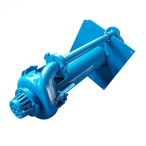 SPR rubber lined vertical submerged pump centrifugal pump