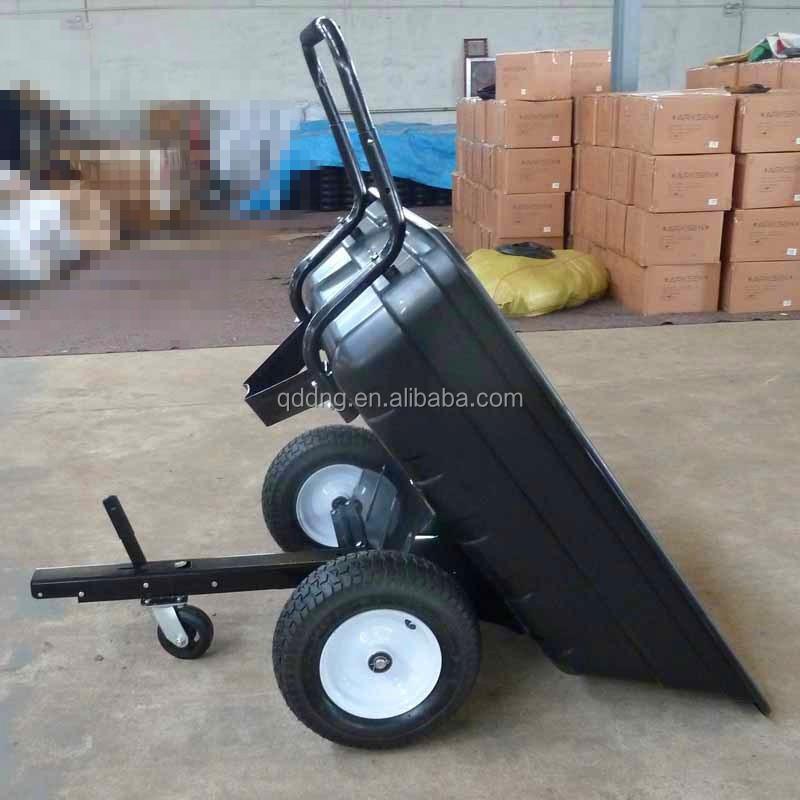 Jardin tracteur panier Heavy Duty remorque brouette pour monter ...