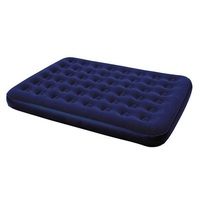 Camping Traveling Usage Classic Design Inflatable Air Mattress with Built-in Pump